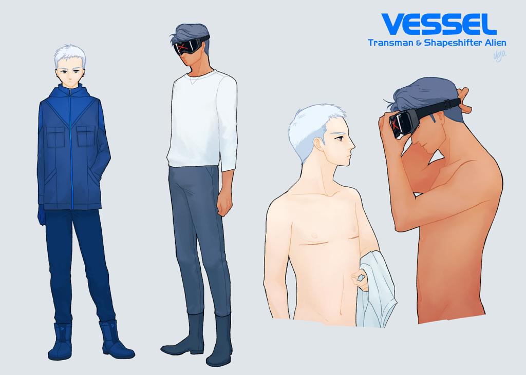 キャラクター設定画