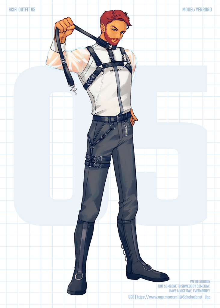 SCI-FI OUTFIT 05