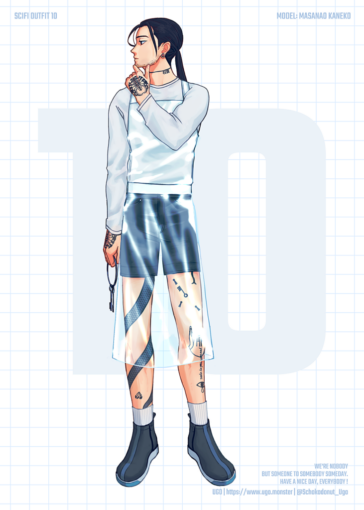 SCI-FI OUTFIT 10