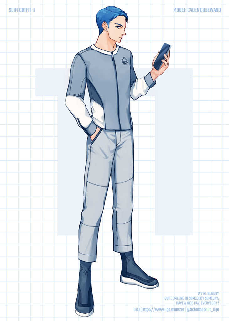 SCI-FI OUTFIT 11