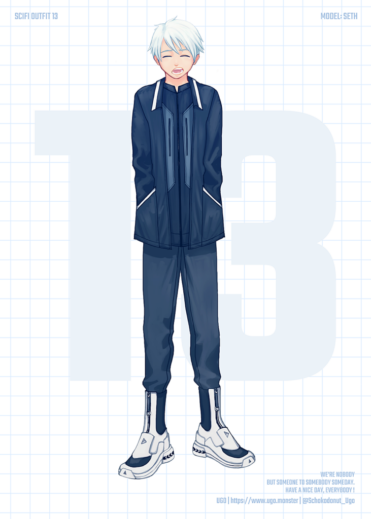 SCI-FI OUTFIT 13