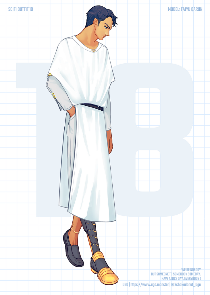 SCI-FI OUTFIT 18